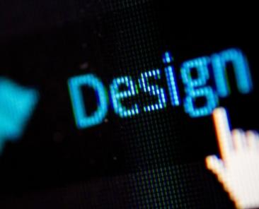 indicatore del mouse puntato sulla parla design